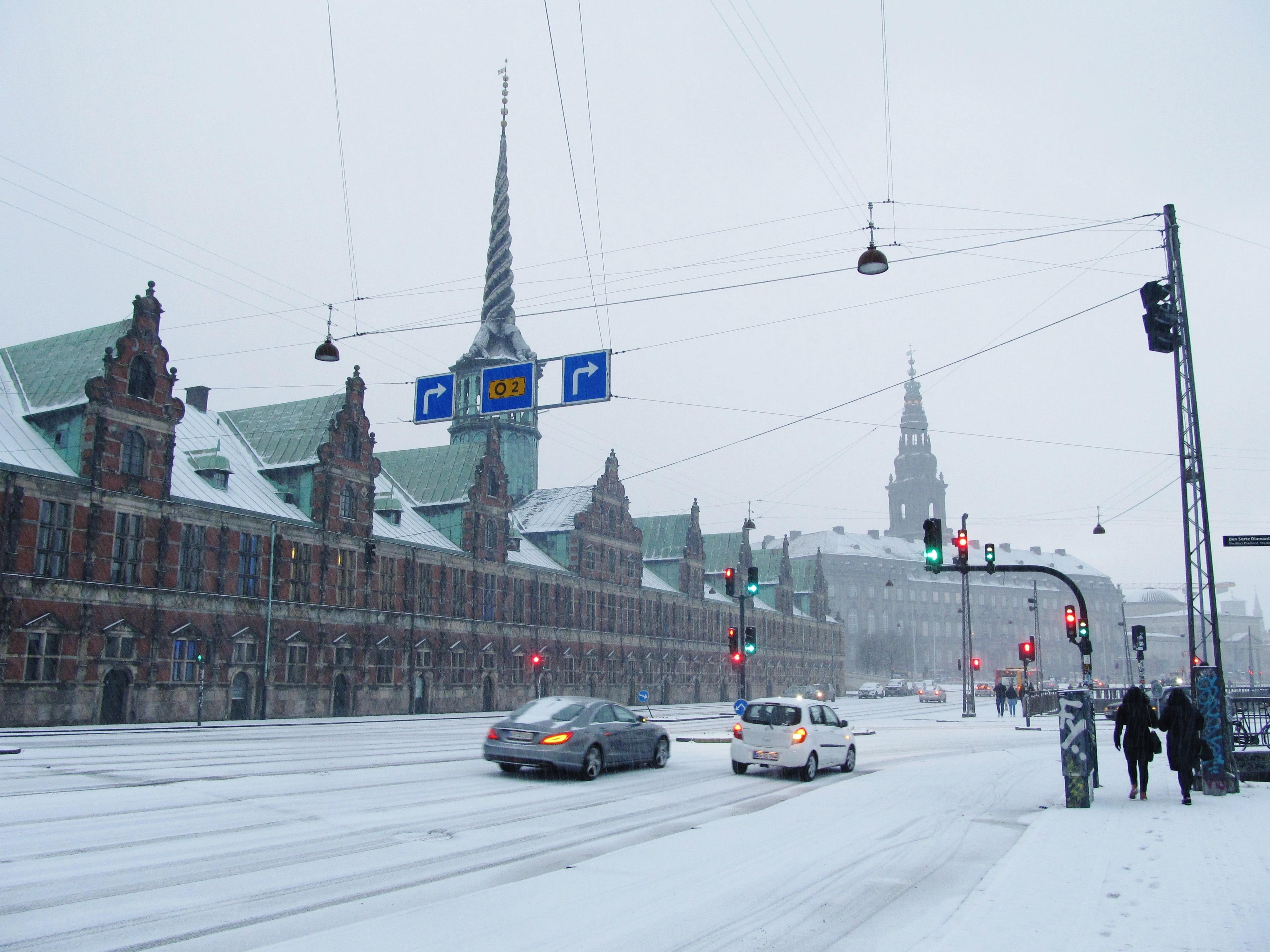 Balade hivernale à Copenhague