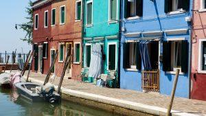 Ambiance colorée à Burano