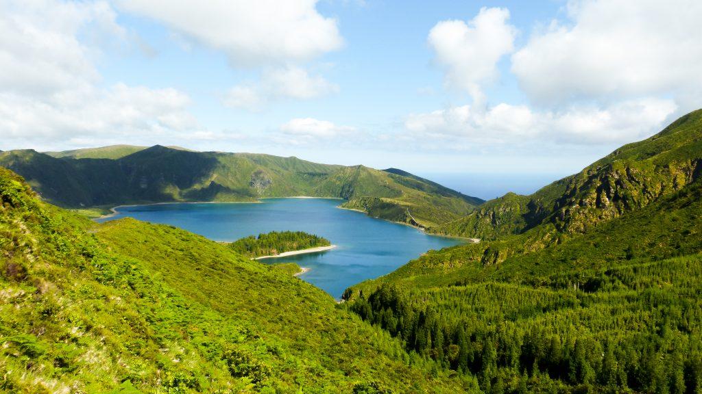 Que voir aux Açores Lac de feu