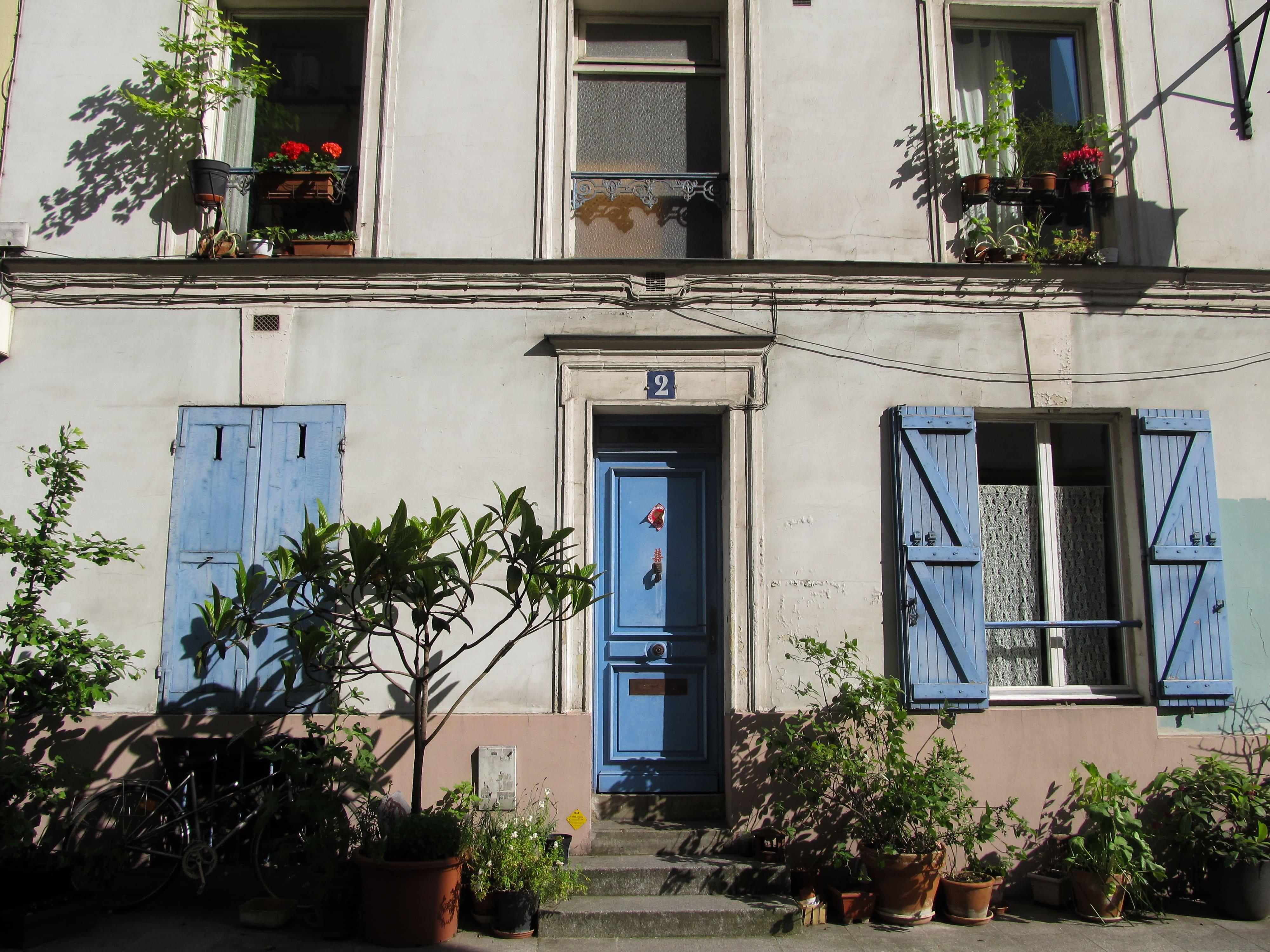 Paris : Cité florale x Rue Crémieux