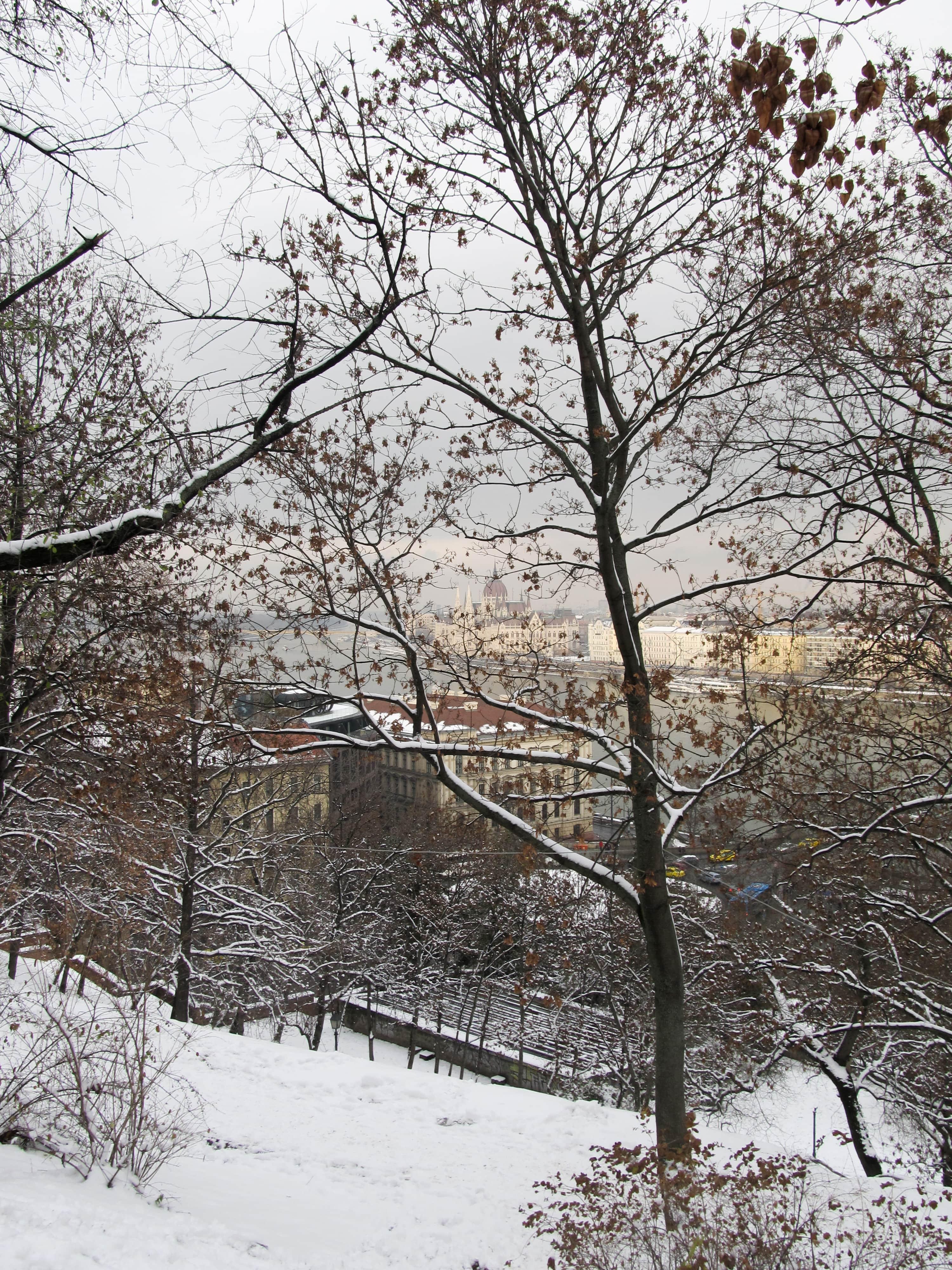Découvrez Budapest sous la neige grâce à ces clichés pris depuis le début de l'hiver.