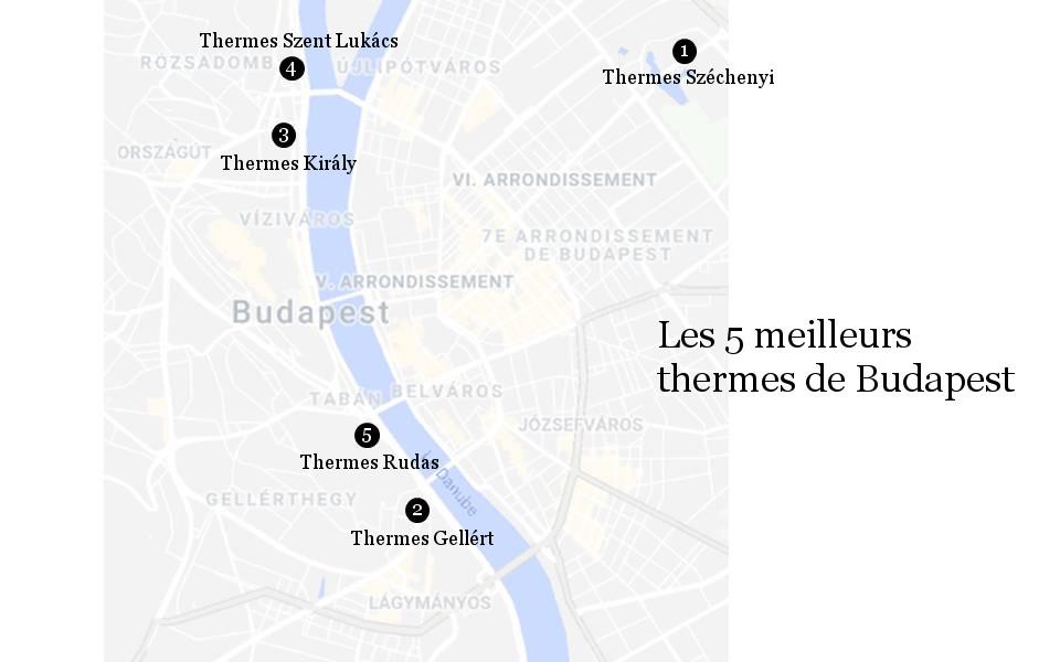 Partez à la découverte des meilleurs thermes de Budapest : conseils, comparaisons et recommandations.