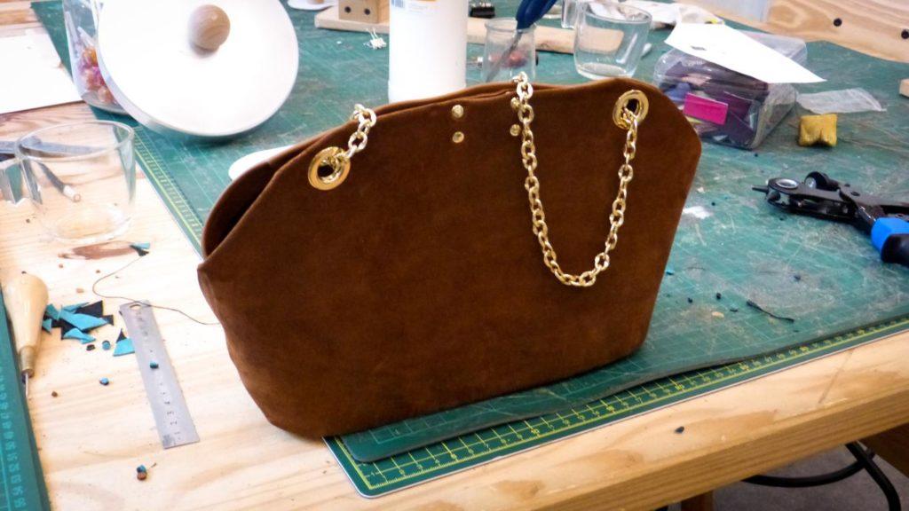 Le résultat : un sac personnalisé créé en seulement 4 heures.