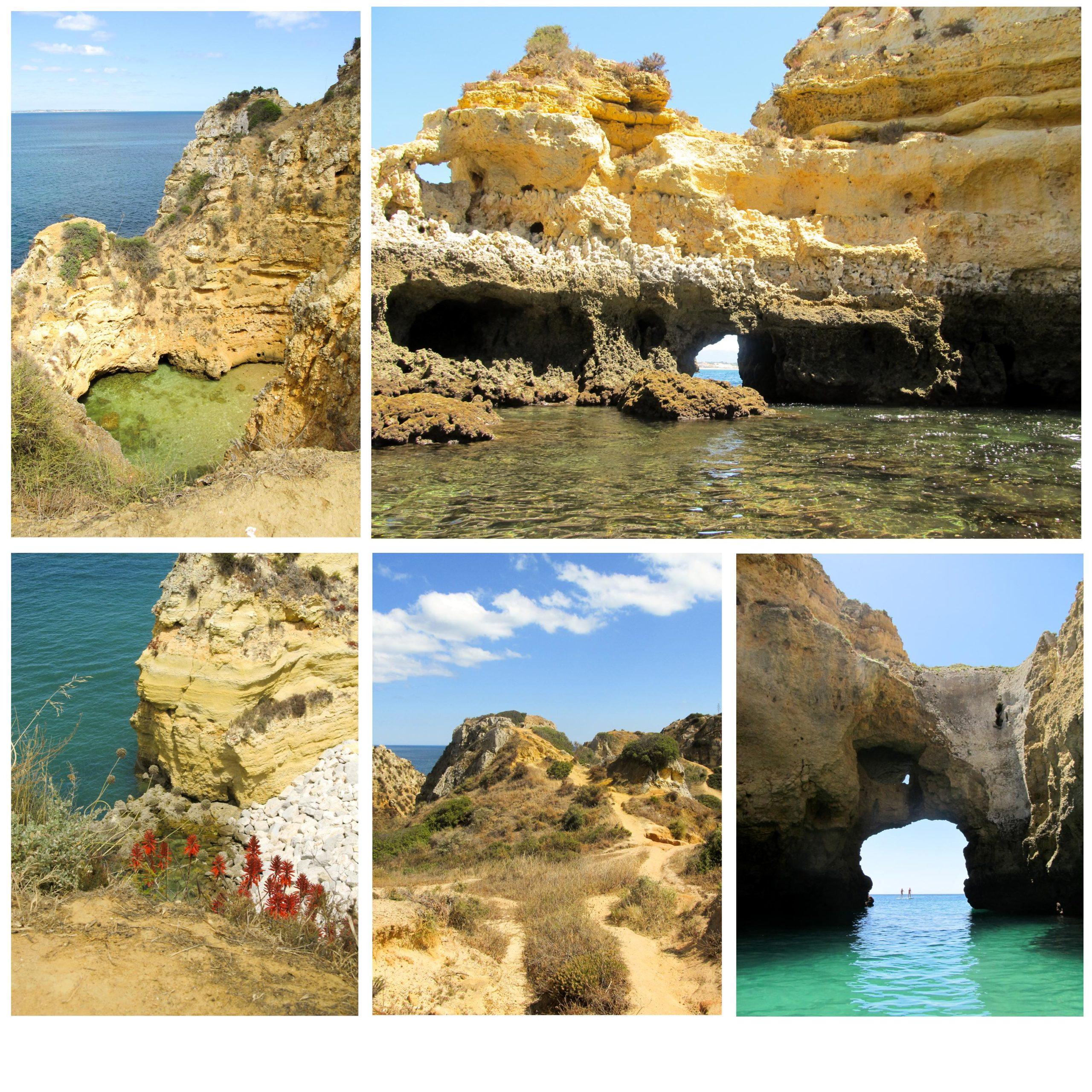 Plages près de Lagos | Découvrez dans cet article les plus beaux endroits, notamment les plages et villages, de la côte sud de l'Algarve au Portugal.