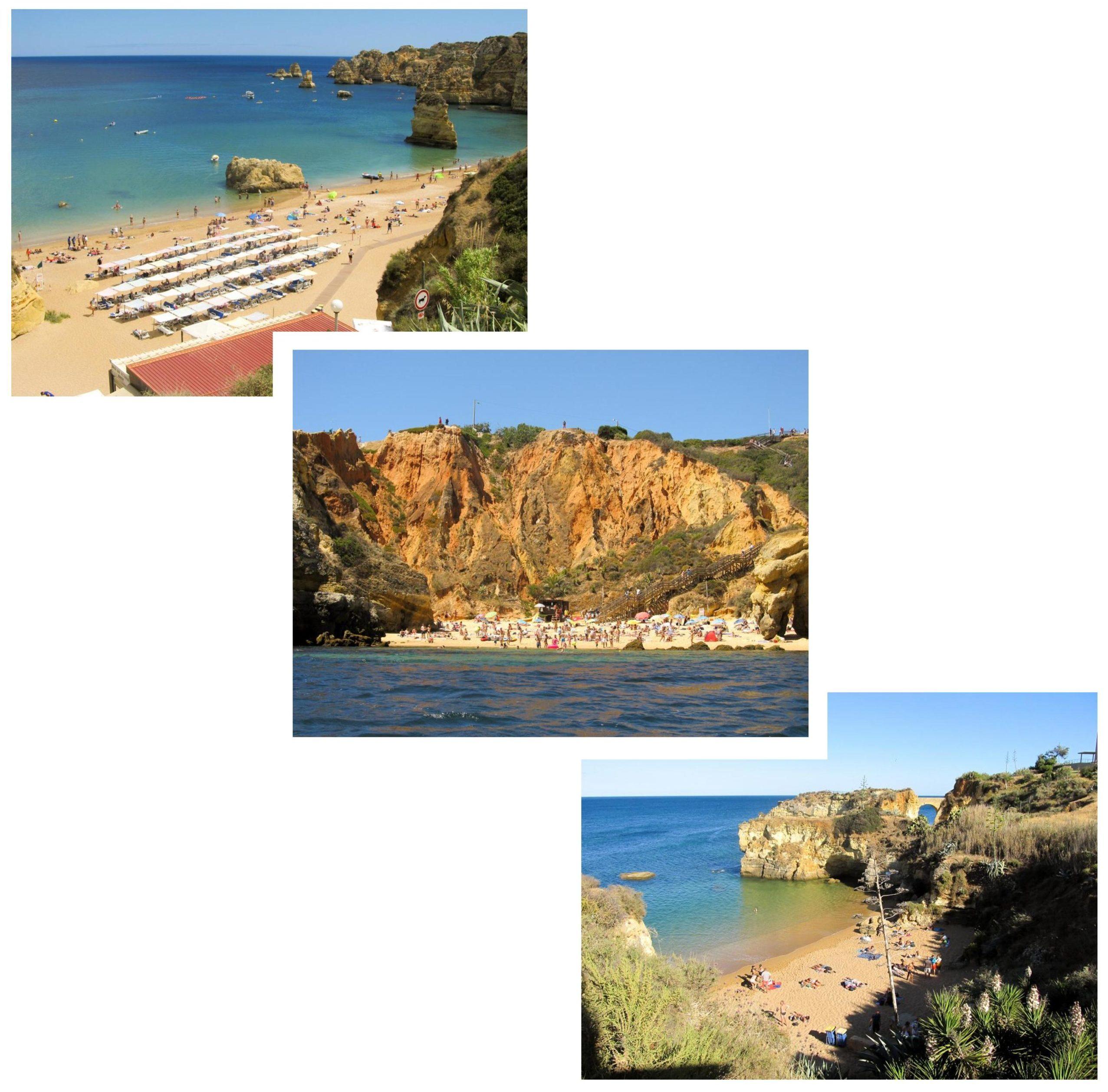 Plages Lagos | Découvrez dans cet article les plus beaux endroits, notamment les plages et villages, de la côte sud de l'Algarve au Portugal.