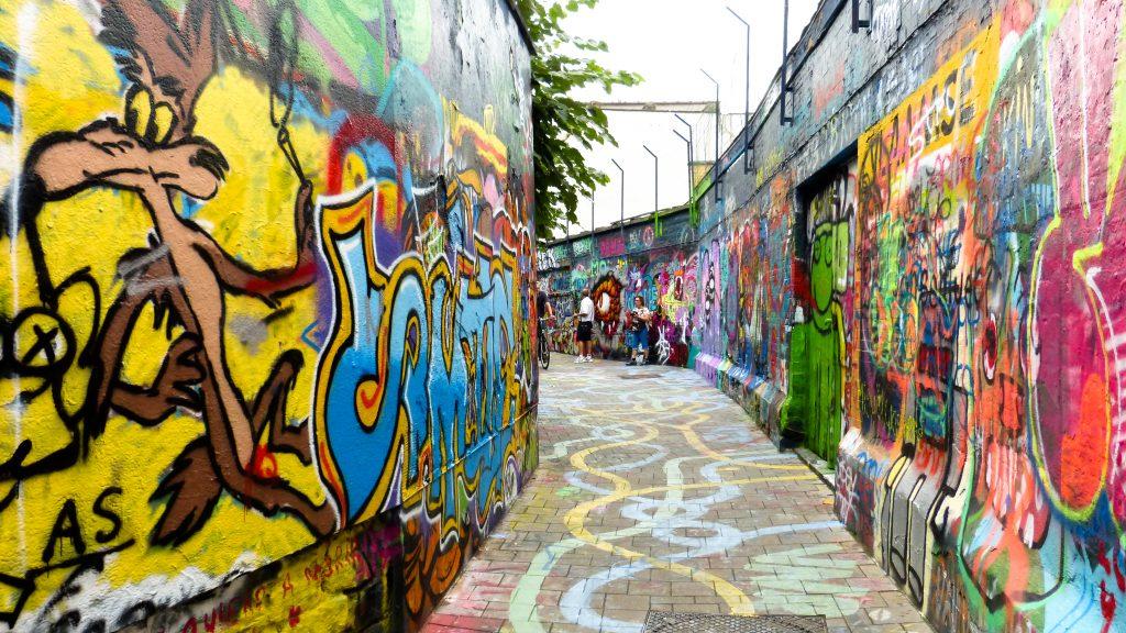 La ruelle aux graffitis à Gand | Découvrez les meilleurs endroits pour voir du street-art et de l'art urbain à Gand