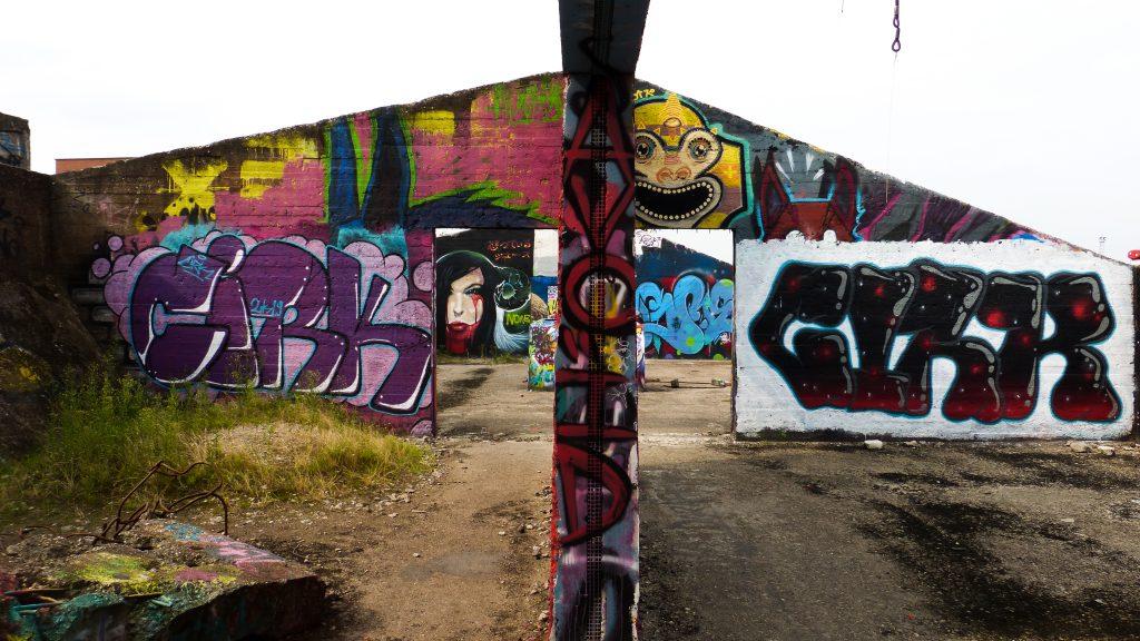 Grindbakken, repère de street-art à Gand | Les meilleurs endroits pour voir du street-art à Gand