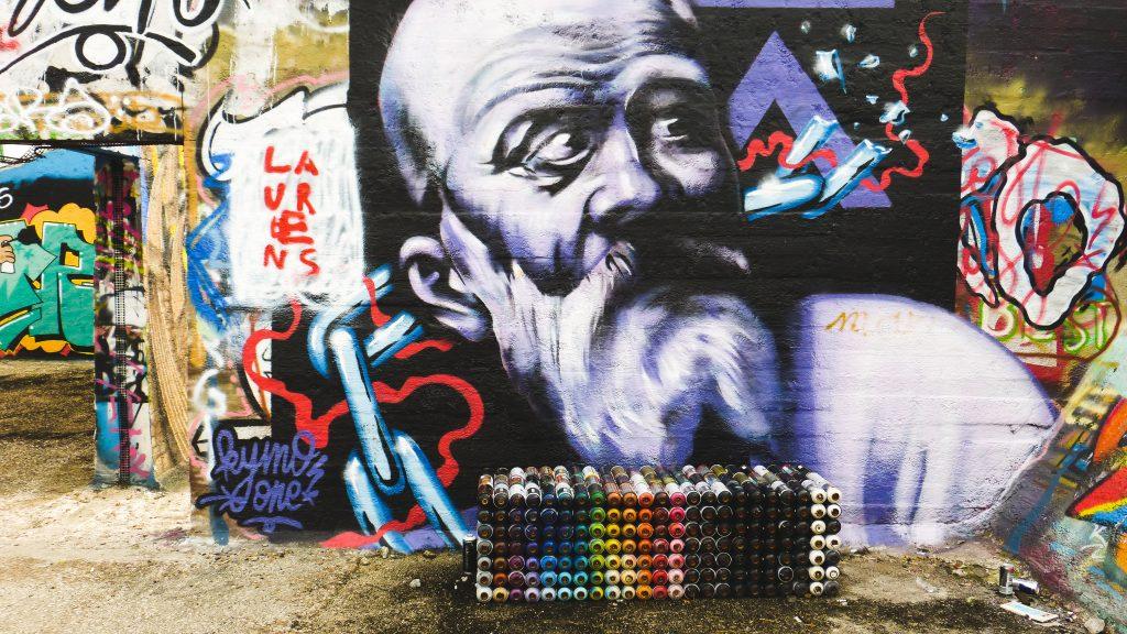 Grindbakken, repère de street-art à Gand