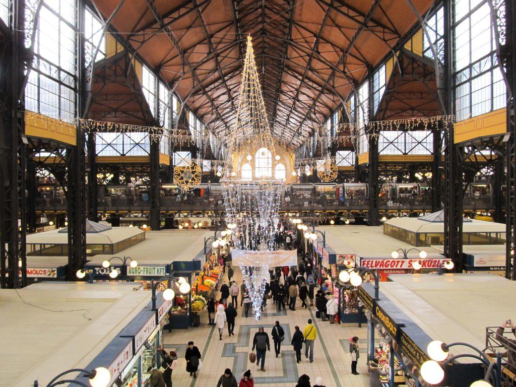 Visiter grandes halles Budapest