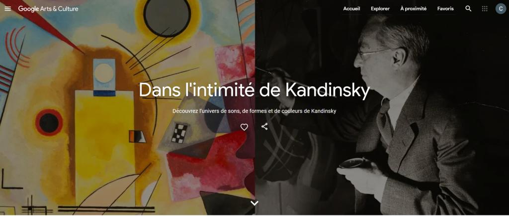 Poudre d'Escampette   Exposition Kandinsky Centre Pompidou