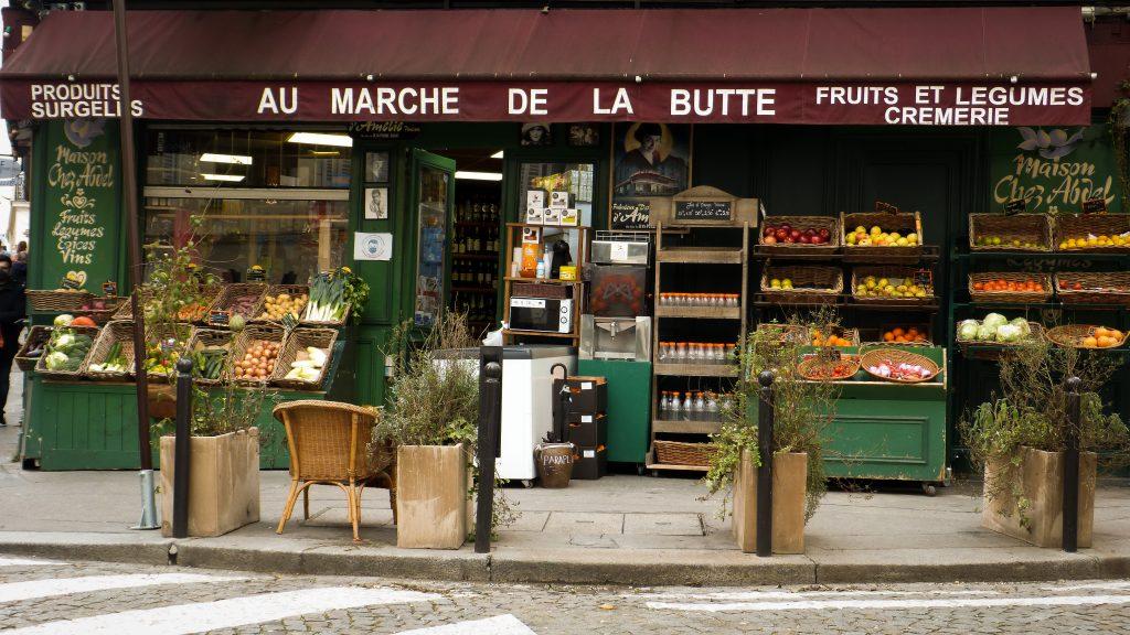 Montmartre Epicerie Amélie Poulain