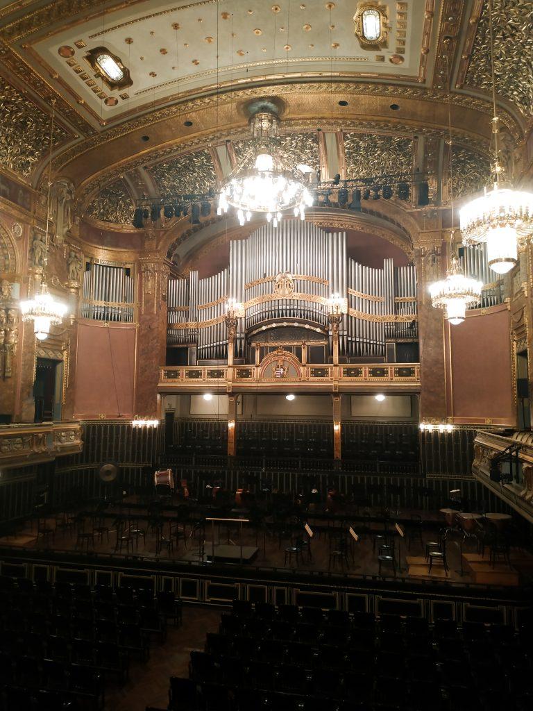Académie musique Franz Listz Budapest