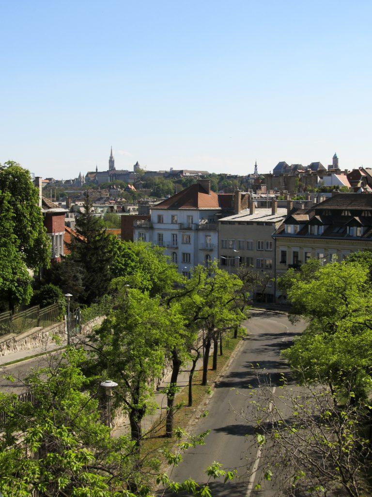 Découvrir colline des roses Budapest