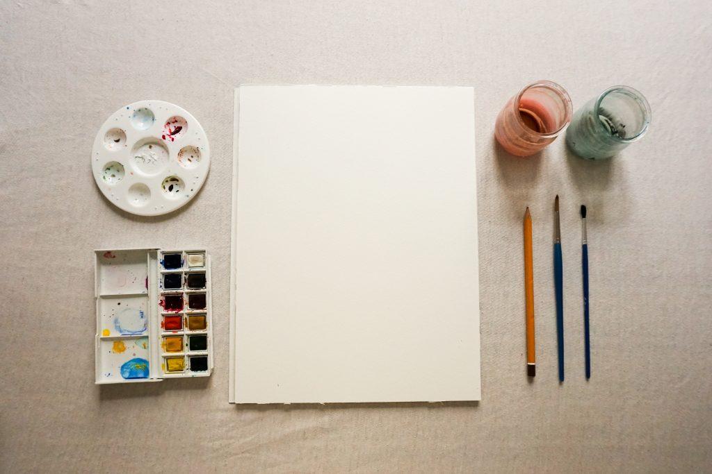 Apprendre l'aquarelle | Matériel aquarelle
