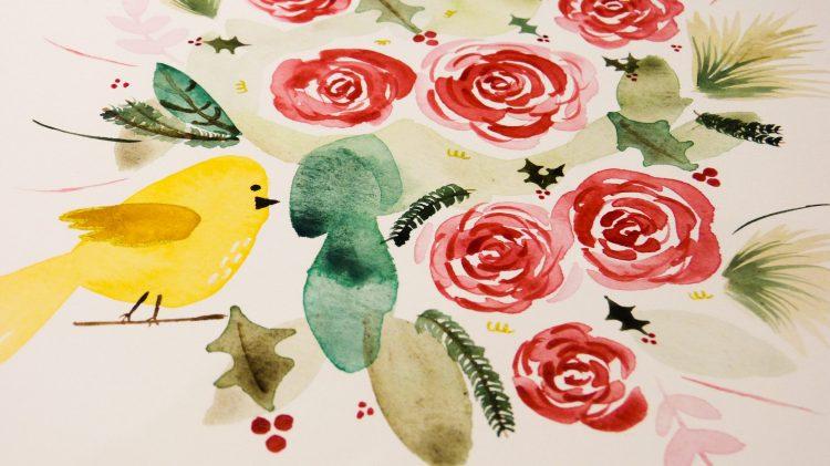 Atelier d'aquarelle en ligne