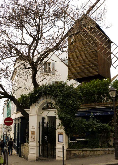 Balade Montmartre Le Moulin de la Galette