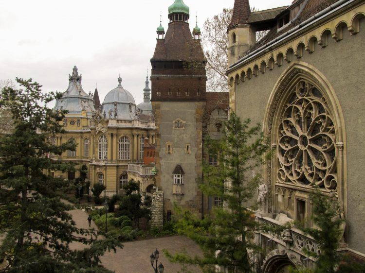 Château de Vajdahunyad Budapest 4